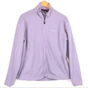 PATAGONIA Fleece Synchilla Jacket Sz Lg Purple